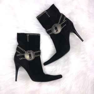 Casadei Italy 8.5 Suede Boho Boots Shoes